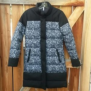 Fabletics long winter puffer coat small